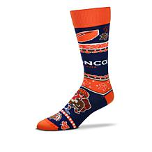 Officially Licensed NFL Thanksgiving Knit Crew Socks by FBF Originals