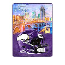 """Officially Licensed NFL     Ultra  Soft  60"""" x 80"""" Throw"""