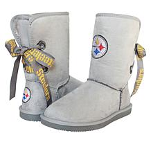 Officially Licensed NFL Women's The Quarterback  Boot  by Cuce