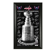 Officially Licensed NHL 2018 Stanley Cup Signature Trophy Photo