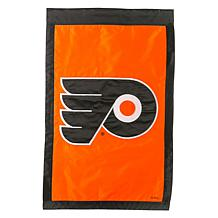 Officially Licensed NHL Applique House Flag - Philadelphia Flyers