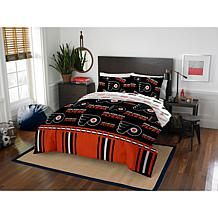 Officially Licensed NHL Queen Bed in a Bag Set - Philadelphia Flyers