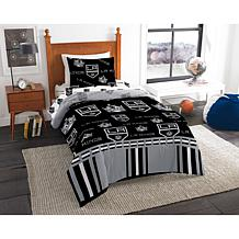 Officially Licensed NHL Twin Bed in a Bag Set - Los Angeles Kings