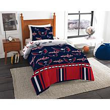 Officially Licensed NHL Twin Bed In a Bag Set - Washington Capitals