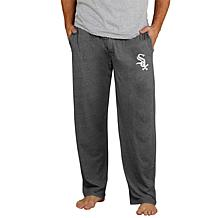 Officially Licensed Quest Men's Knit Pant by Concepts Sport-White Sox