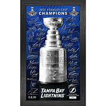 Officially Licensed Tampa Bay 2021 Stanley Cup Signature Trophy