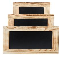 Origami Set of 3 Nestable Wooden Crates