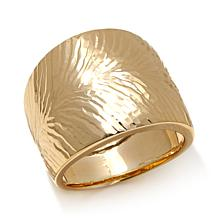 "Passport to Gold 14K Yellow Gold ""Rifiorita"" Band Ring"