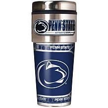 Penn State Nittany Lions Travel Tumbler w/ Metallic Graphics and Te...