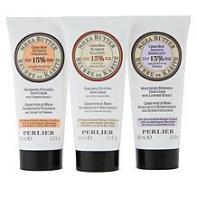 Perlier 3-Piece Shea Butter Hand Cream Set