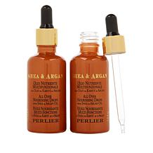 Perlier Shea Butter & Argan Oil All Over Nourishing Oil Duo