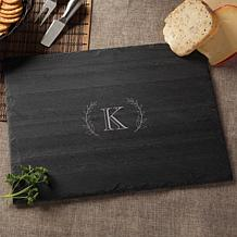 Personalized Grand Initial Slate Cheese Board