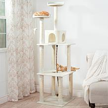 PETMAKER 6 ft. Sleep and Play Cat Tree
