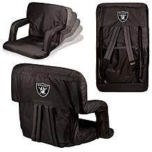 ... Picnic Time Ventura Folding Chair   Oakland Raiders