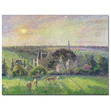 Camille Pissarro 'Church and Farm of Eragny' Art Print