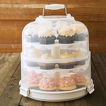 PL8 3-Tier Collapsible 24-Count Cupcake Carrier