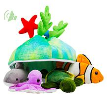 Plush Creations Sea Creature 5-piece Set of Talking Animals