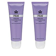 PRAI 2-pack Ageless Throat & Decolletage Rollerball Serum