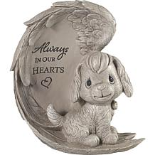 Precious Moments 193422 Always In Our Hearts Dog Memorial Garden Stone