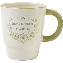 Precious Moments Home Is Where Mom Is Ceramic Mug