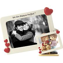 Precious Moments We Are Picture Perfect Resin and Glass Photo Frame