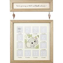 Precious Moments You're Growing So Fast Baby's 1st Year Photo Frame