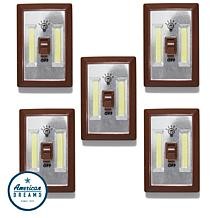 Promier COB LED Wireless Light Switch 5-pack