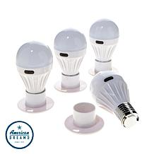 Promier Porta Bulb 4-pack Wireless COB LED Bulbs