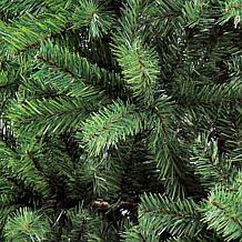 Puleo 7.5 ft. Noble Fir Unlit Artificial Christmas Tree
