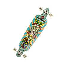 """Punisher 40-inch """"Day of the Dead"""" Drop-Deck Skateboard"""
