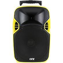 """QFX 12""""  Mobile Theater Projector Speaker with Screen"""