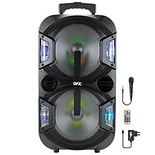 "QFX 2 x 10"" Portable Party Speaker"