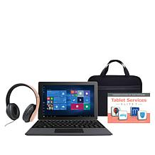 """RCA 10.1"""" HD 32GB Tablet With Windows 10 and Keyboard"""
