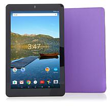 "RCA Premier 10.1"" HD IPS Android Tablet w/Folio Case"