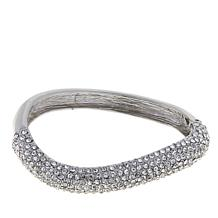 Real Collectibles Curved Hinged Bangle Bracelet
