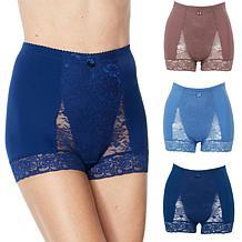 Rhonda Shear 3-pack Lace Pin-Up Panty Set