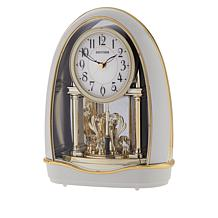Rhythm Musical Motion Valentina Clock with Swarovski Crystal