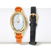 "Roberto by RFM ""Viva Capri"" Interchangeable Strap Watch"