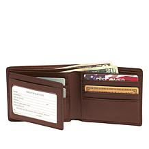 Royce Leather RFID-Blocking Bifold Wallet