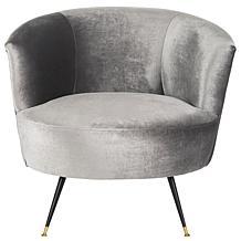 Safavieh Arlette Velvet Retro Mid-Century Accent Chair