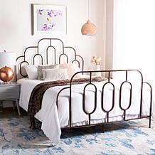 Safavieh Paloma Metal Retro Bed