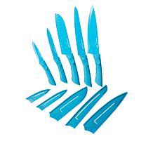 Safe-T-Grip 10-piece Knife Set with Sheaths