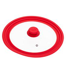 Safe-T-Grip Universal Glass Lid with Silicone Rim