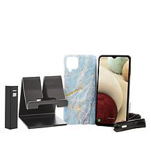"Samsung Galaxy A12 6.5"" HD+ Tracfone Bundle w/1500 Minutes/Texts/Data"