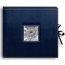 Sewn Leatherette D-Ring Scrapbook Album Box