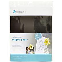 """Silhouette 8.5"""" x 11"""" Printable Magnet Paper"""