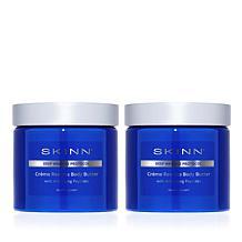 Skinn® Cosmetics 2-pack DWP Creme Reverse Body Butter