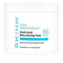 Skinn Cosmetics Non-Negotiables Multi-Acid Resurfacing Pads