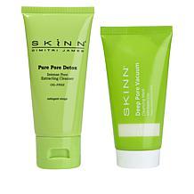 Skinn® Cosmetics Pure Pore Detox Vacuum Mask & Cleanser Set