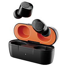 Skullcandy Jib True Wireless In-Ear Earbuds w/Mics (True Black Orange)